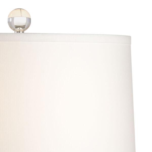 Georgine Black and White One-Light Table Lamp, image 3