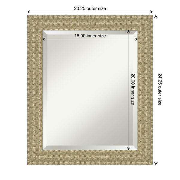 Mosaic Gold 20W X 24H-Inch Bathroom Vanity Wall Mirror, image 6