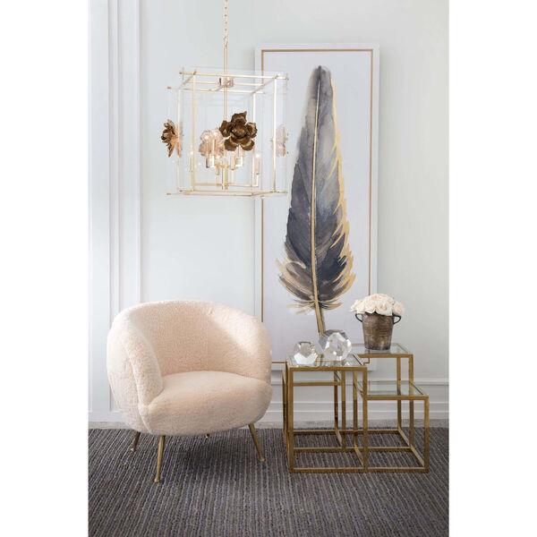 Beretta White Sheepskin Chair, image 2