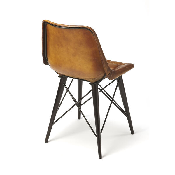 Brown 31-Inch Side Chairs, image 2