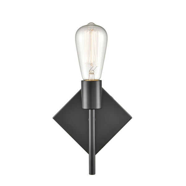 Mia Matte Black Six-Inch LED Wall Sconce, image 2