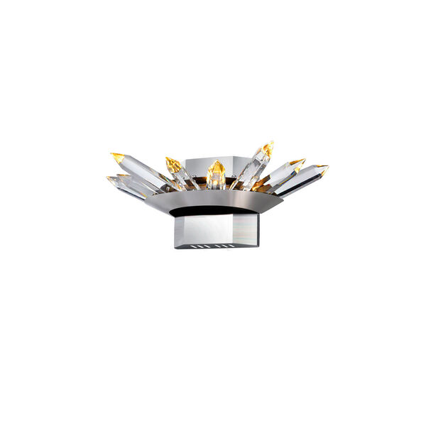 Arctic Queen Polished Nickel LED Wall Sconce, image 2