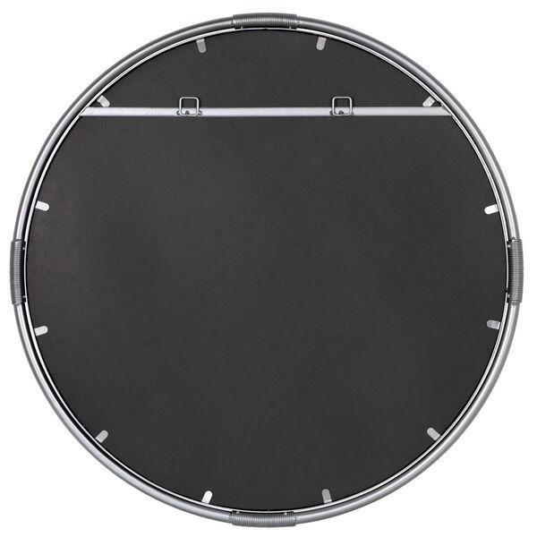 Scarlet Silver Metal 32-Inch x 32-Inch Wall Mirror, image 4