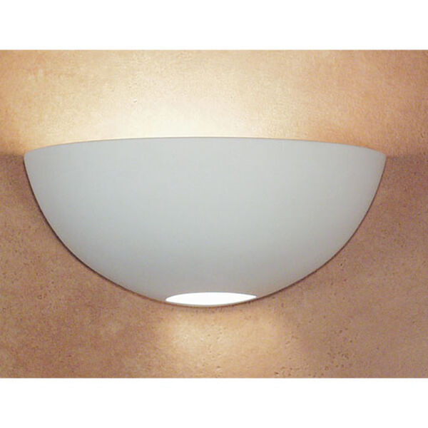 Great Aegina Bisque Half-Moon Wall Sconce, image 1
