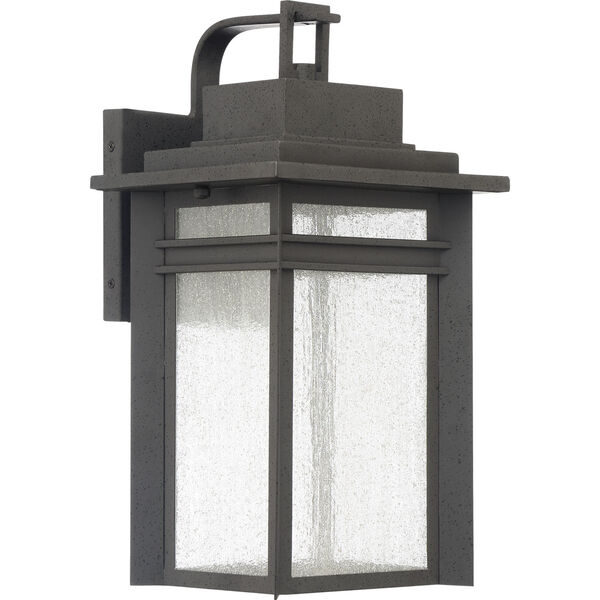 Beacon 16-Inch Stone Black LED Outdoor Wall Sconce, image 2