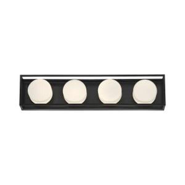 Rover Black 24-Inch Integrated LED Bath Vanity, image 1