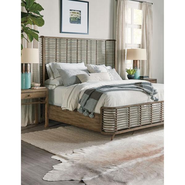 Sundance Brown Rattan Bed, image 2