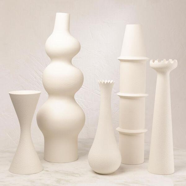 Studio A Home Matte White Muguet Vase, image 2