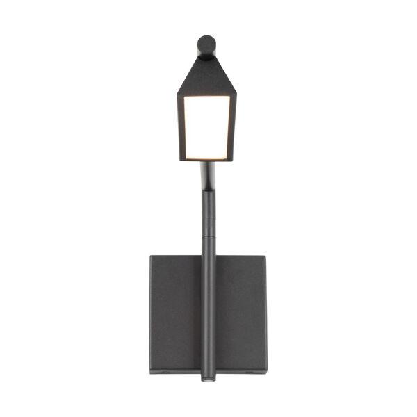 Eero Black LED Swing Arm Wall Light, image 2