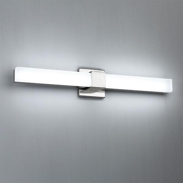 Esprit Brushed Nickel 26-Inch LED Bath Vanity, image 2