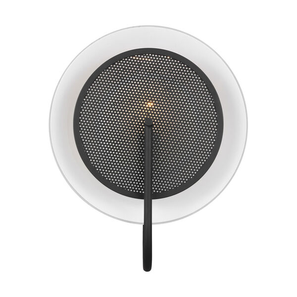 Gesture Midnight Black Wall Sconce, image 1