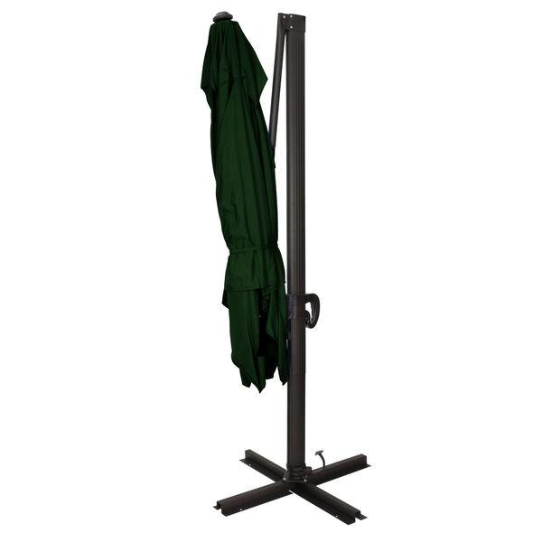 Cali Bronze with Forest Green Nine-Feet Sunbrella Patio Umbrella, image 3