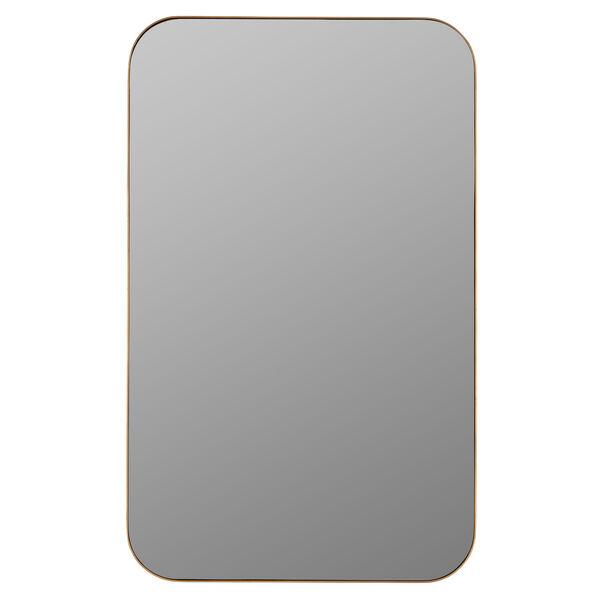 Hadley Gold Surface Medicine Cabinet with Adjustable Shelves, image 3