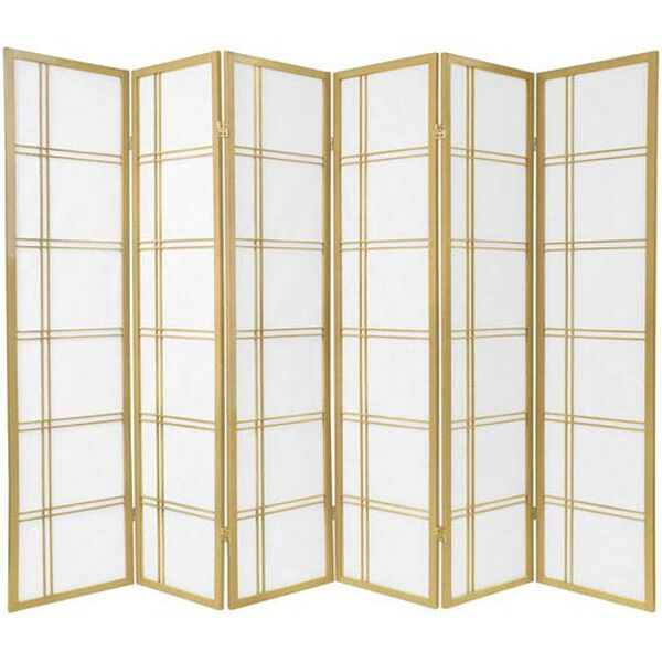 Double Cross Shoji Screen - Special Edition , Width - 103.5 Inches, image 1