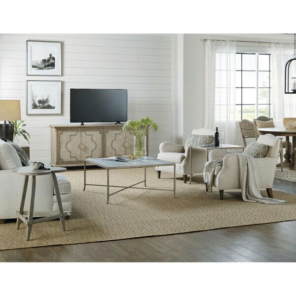 Alfresco Light Silver End Table, image 3