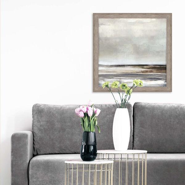 Tywyn Vista Gray Framed Art, image 1