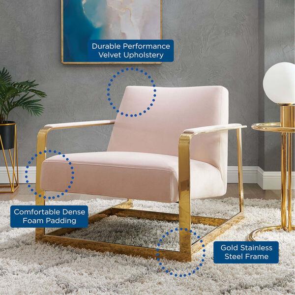 Monroe Performance Velvet Accent Chair, image 6