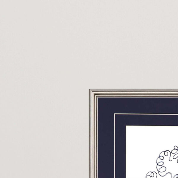 Navy Gems II Blue Framed Art, Set of Two, image 3