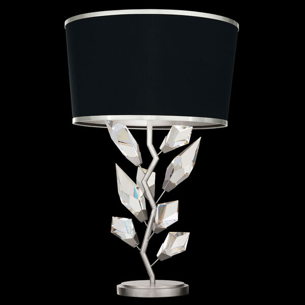 Foret Silver Black One-Light Table Lamp, image 1