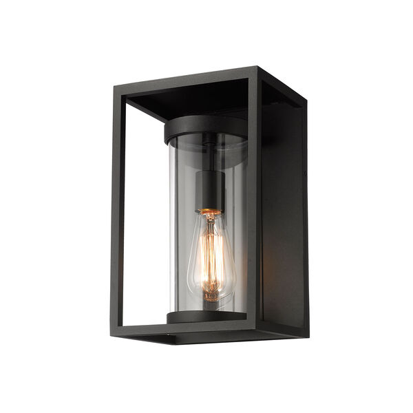 Dunbroch Black 13-Inch One-Light Outdoor Wall Sconce, image 1