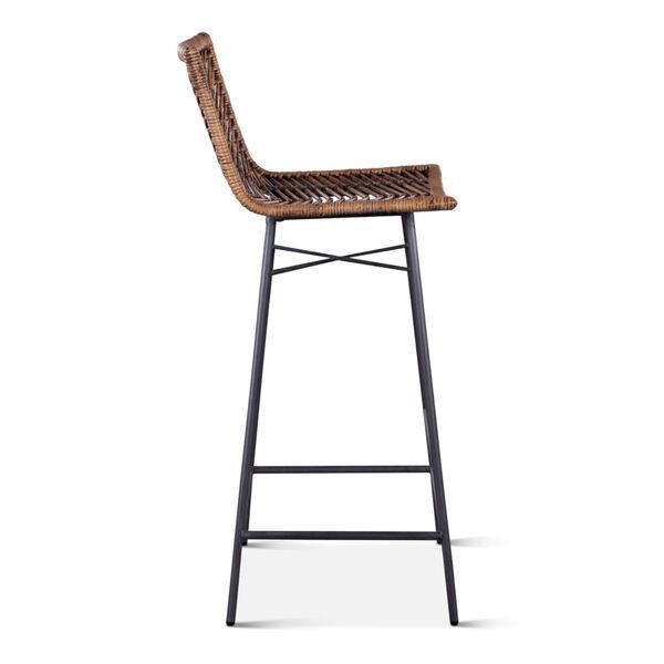 Bali Brown Honey Washed Bar Chair, Set of 2, image 4