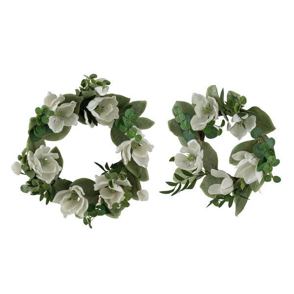 Magnolia and Eucalyptus Wreath, image 1