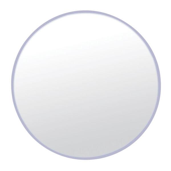 Brushed Nickel 33 x 33 Inch Mirror, image 1