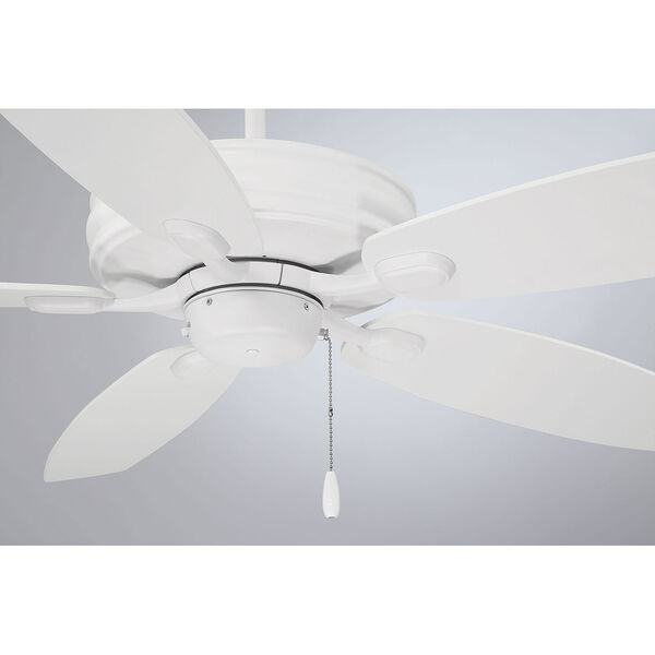 Kentwood White  Five-Blade Ceiling Fan, image 4