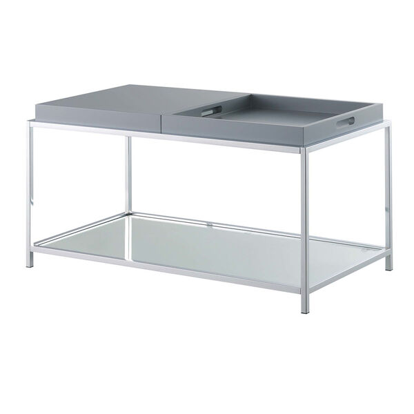 Palm Beach Gray Accent Coffee Table, image 6