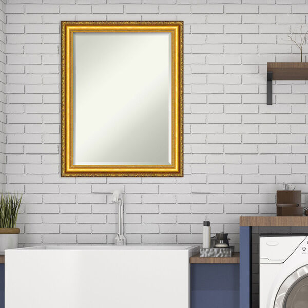 Colonial Gold 22W X 28H-Inch Decorative Wall Mirror, image 3
