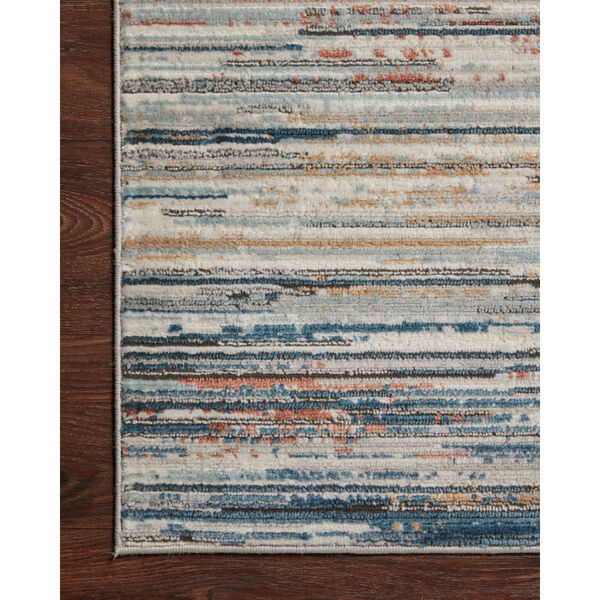 Bianca Pebble, Spice and Blue 2 Ft. 8 In. x 13 Ft. Area Rug, image 5