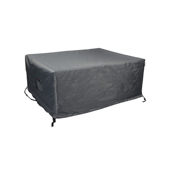Titanium Shield Outdoor Rectangular Fire Table Cover, image 1