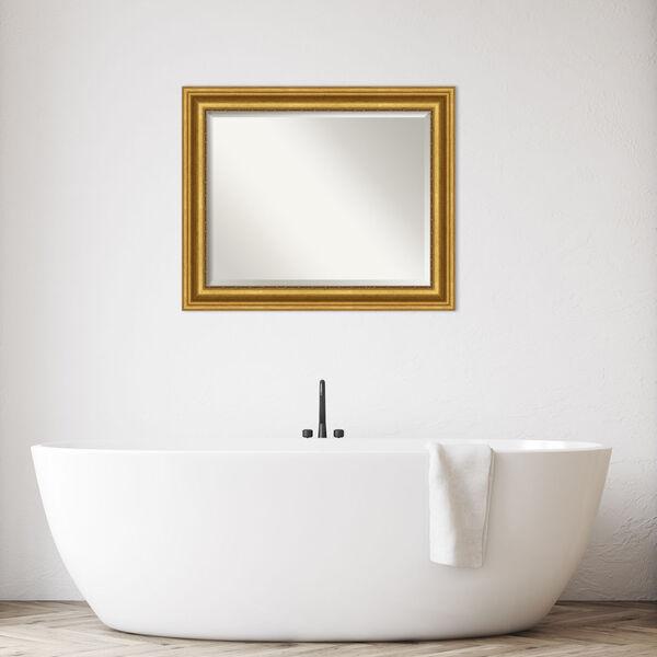 Parlor Gold 34W X 28H-Inch Bathroom Vanity Wall Mirror, image 3