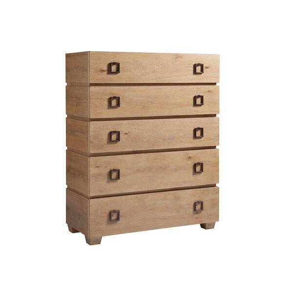 Los Altos Brown Carnaby Drawer Chest, image 1