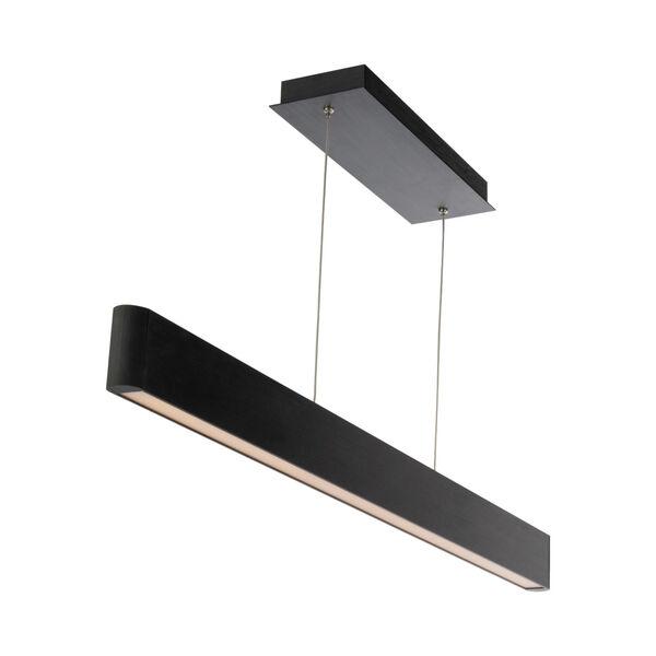Volo Black 44-Inch LED Linear Pendant, image 1