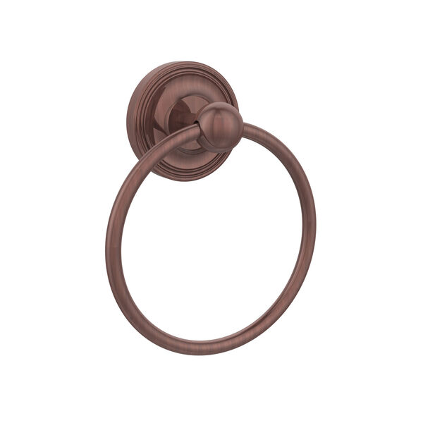 Prestige Regal Antique Copper Towel Ring, image 1