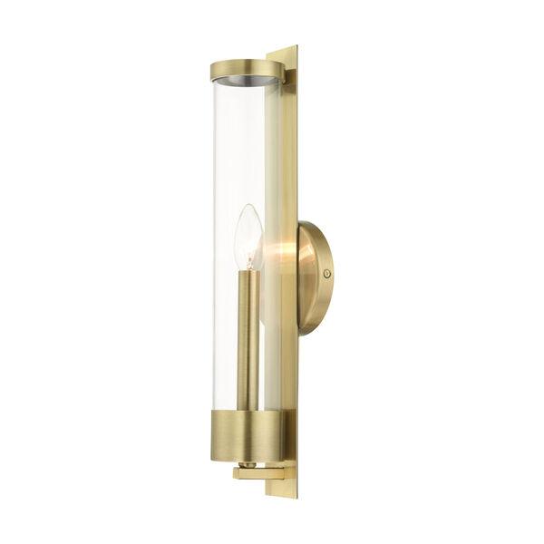 Castleton Antique Brass One-Light ADA Wall Sconce, image 5
