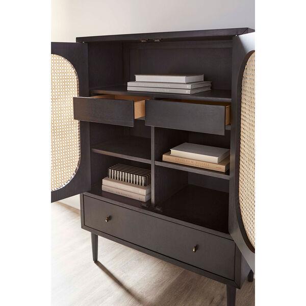 Dark Gray 36-Inch Bauer Bar Cabinet, image 5