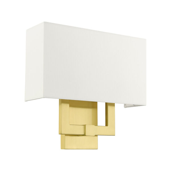 Meridian Satin Brass Two-Light ADA Wall Sconce, image 2
