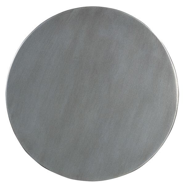 Melange Gold Gia Drum Table, image 2