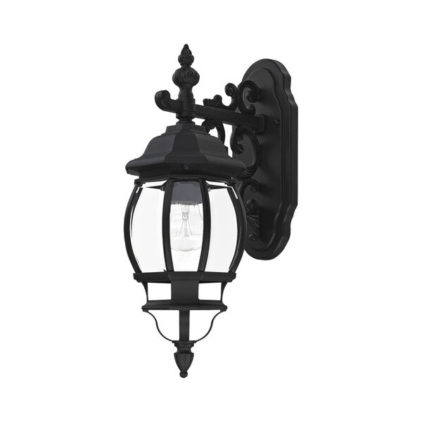 Frontenac Textured Black One-Light Outdoor Wall Sconce, image 2