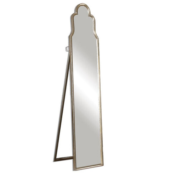 Kenwood Silver Arched Floor Mirror, image 4