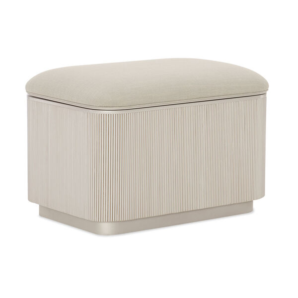 Classic Beige For the Love of Ottoman, image 1