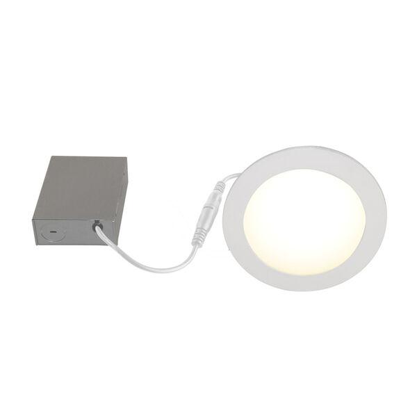 White Wi-Fi RGB LED Recessed Fixture Kit, image 3