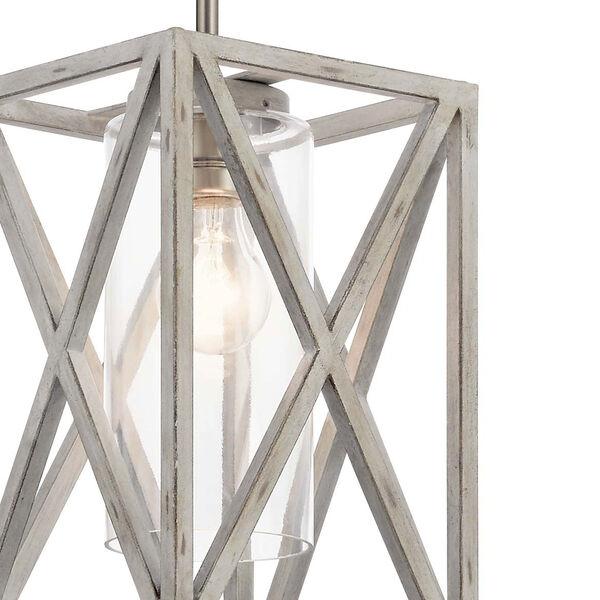 Moorgate Distressed Antique White One-Light Mini Pendant, image 3