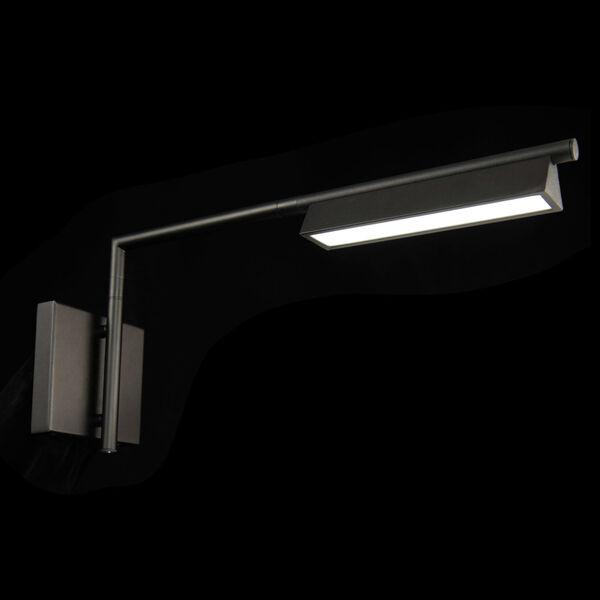 Eero Black LED Swing Arm Wall Light, image 3