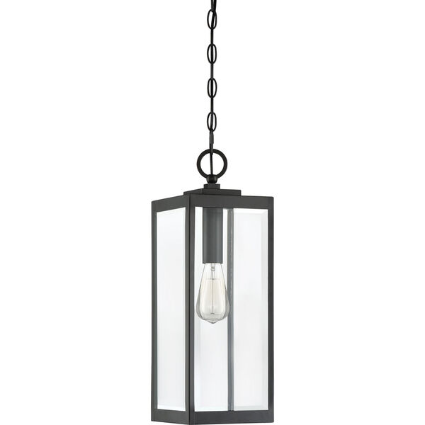 Westover Earth Black One-Light Outdoor Pendant, image 2