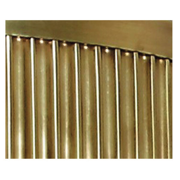 Cohasset Aged Brass Wall Sconce with Cream Shade, image 2