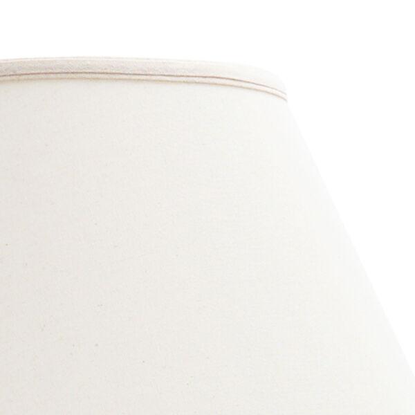 Kyoko White Crackle Glaze Table Lamp, image 3