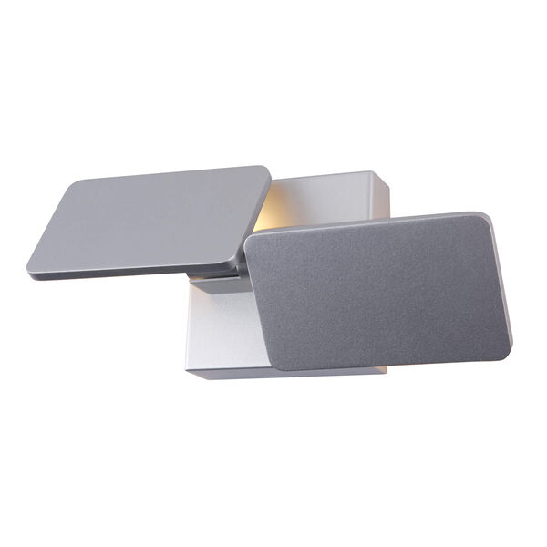 Eclipse Silver Two-Light LED Wall Sconce, image 4
